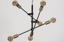 Hanglamp 13860: modern, retro, eigentijds klassiek, metaal #7