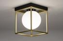 Plafondlamp 13861: modern, retro, eigentijds klassiek, art deco #1