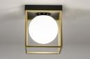 Plafondlamp 13861: modern, retro, eigentijds klassiek, art deco #2