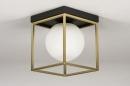Plafondlamp 13861: modern, retro, eigentijds klassiek, art deco #3