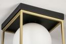 Plafondlamp 13861: modern, retro, eigentijds klassiek, art deco #4