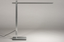 Tafellamp 13868: design, modern, aluminium, geschuurd aluminium #2