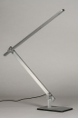 Tafellamp 13868: design, modern, aluminium, geschuurd aluminium #5