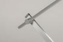 Tafellamp 13868: design, modern, aluminium, geschuurd aluminium #8