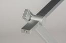 Tafellamp 13868: design, modern, aluminium, geschuurd aluminium #9