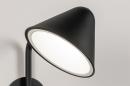 Wandlamp 13877: design, modern, metaal, zwart #5