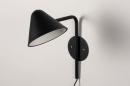 Wandlamp 13877: design, modern, metaal, zwart #6
