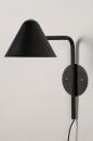 Wandlamp 13877: design, modern, metaal, zwart #7