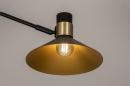 Wandlamp 13878: modern, retro, eigentijds klassiek, metaal #8
