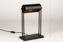 Tafellamp 13879: landelijk, rustiek, modern, eigentijds klassiek #1