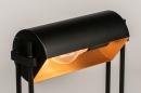 Tischleuchte 13879: laendlich rustikal, modern, zeitgemaess klassisch, Metall #5