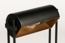 Tischleuchte 13879: laendlich rustikal, modern, zeitgemaess klassisch, Metall #6