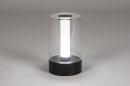 Tafellamp 13882: modern, kunststof, acrylaat kunststofglas, metaal #1