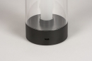 Tafellamp 13882: modern, kunststof, acrylaat kunststofglas, metaal #3