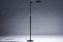 Vloerlamp 13890: modern, metaal, zwart, mat #13
