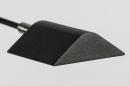 Vloerlamp 13890: modern, metaal, zwart, mat #21