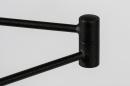 Vloerlamp 13890: modern, metaal, zwart, mat #23