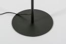 Vloerlamp 13890: modern, metaal, zwart, mat #24