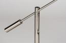 Tafellamp 13891: design, modern, metaal, staalgrijs #10