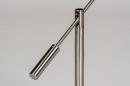 Tafellamp 13891: design, modern, metaal, staalgrijs #11