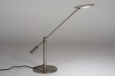 Tafellamp 13891: design, modern, metaal, staalgrijs #3