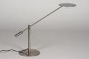 Tafellamp 13891: design, modern, metaal, staalgrijs #5