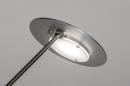 Tafellamp 13891: design, modern, metaal, staalgrijs #8