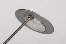 Tafellamp 13891: design, modern, metaal, staalgrijs #9