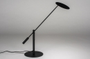 Tafellamp 13892: design, modern, metaal, zwart #1