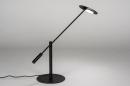 Tafellamp 13892: design, modern, metaal, zwart #2