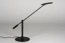 Tafellamp 13892: design, modern, metaal, zwart #3