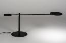 Tafellamp 13892: design, modern, metaal, zwart #5