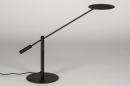 Tafellamp 13892: design, modern, metaal, zwart #6