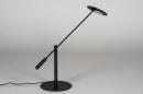 Tafellamp 13892: design, modern, metaal, zwart #7