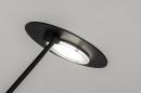 Tafellamp 13892: design, modern, metaal, zwart #8