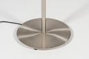Vloerlamp 13893: design, modern, staal rvs, staalgrijs #11