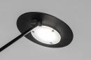 Vloerlamp 13894: design, modern, metaal, zwart #10