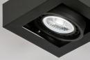 Plafondlamp 13931: modern, stoer, raw, aluminium #6
