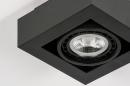 Plafondlamp 13931: modern, stoer, raw, aluminium #7