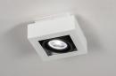 Plafondlamp 13932: modern, stoer, raw, aluminium #1