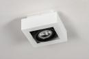 Plafondlamp 13932: modern, stoer, raw, aluminium #4