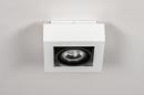 Plafondlamp 13932: modern, stoer, raw, aluminium #5