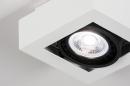 Plafondlamp 13932: modern, stoer, raw, aluminium #6