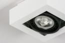 Plafondlamp 13932: modern, stoer, raw, aluminium #7