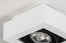 Plafondlamp 13932: modern, stoer, raw, aluminium #8