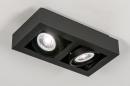 Plafondlamp 13933: modern, stoer, raw, aluminium #4