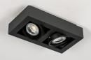 Plafondlamp 13933: modern, stoer, raw, aluminium #5