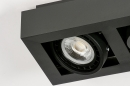 Plafondlamp 13933: modern, stoer, raw, aluminium #9