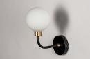 Wandlamp 13940: klassiek, eigentijds klassiek, art deco, glas #4