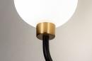 Wandlamp 13940: klassiek, eigentijds klassiek, art deco, glas #5